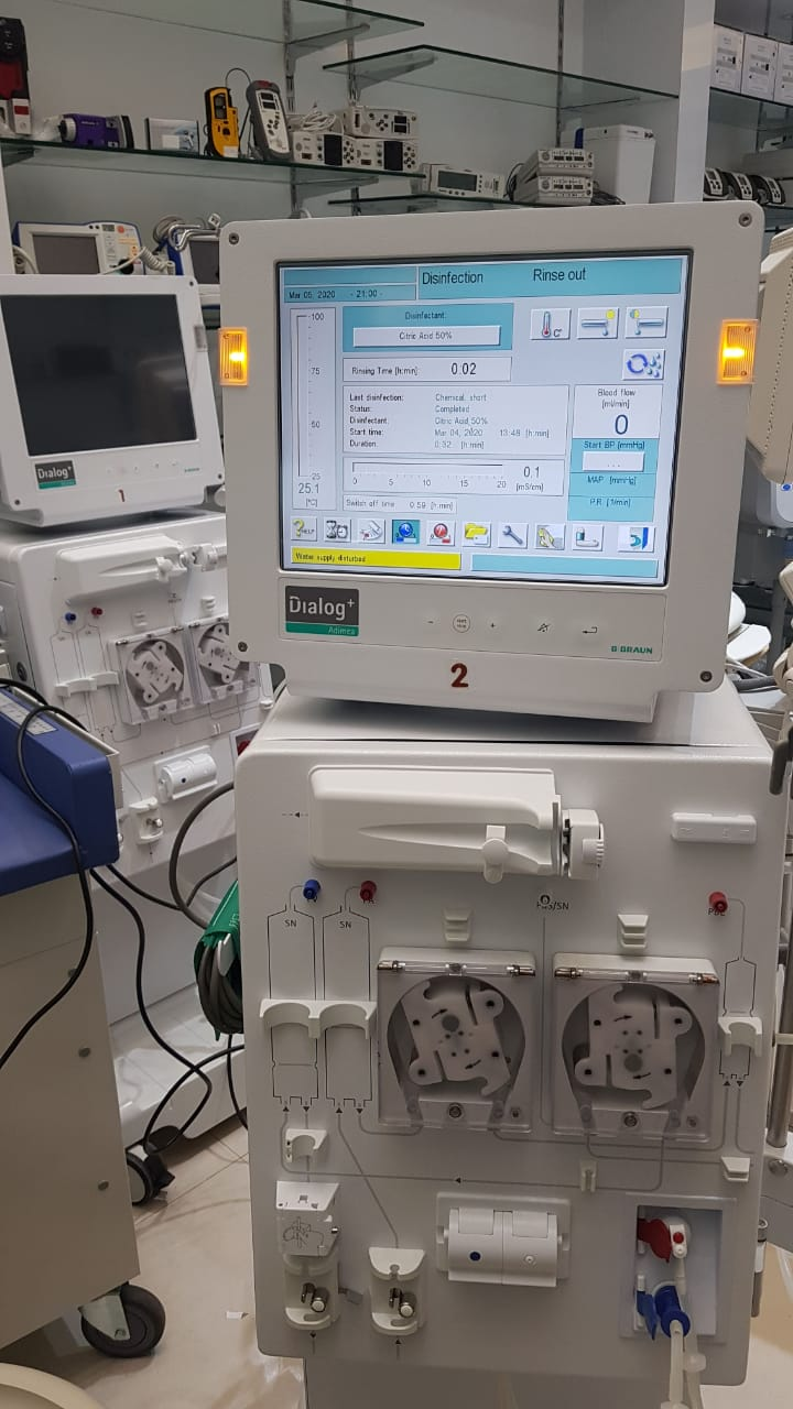 B Braun Fresenius Dialog Plus Dialysis,